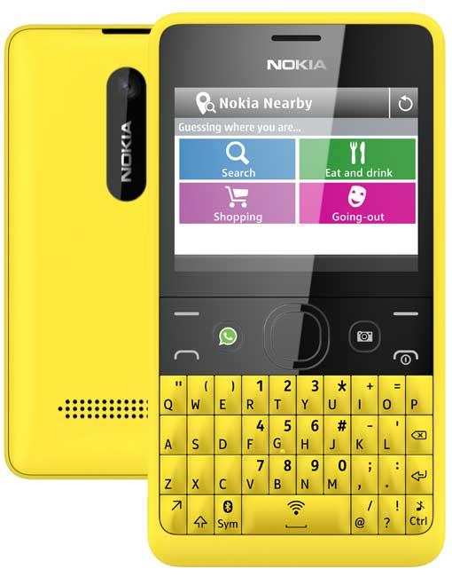 Nokia Asha 210 Pictures