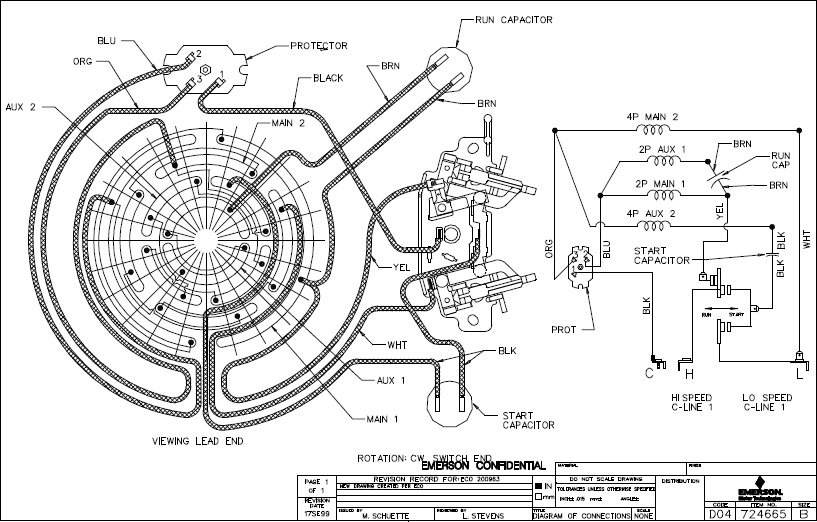 4 speed fan wiring diagrams