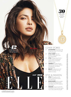Priyanka Chopra looks fresh stylish young and beautiful for Elle Canada April 2018 ~ Exclusive Galleries 003