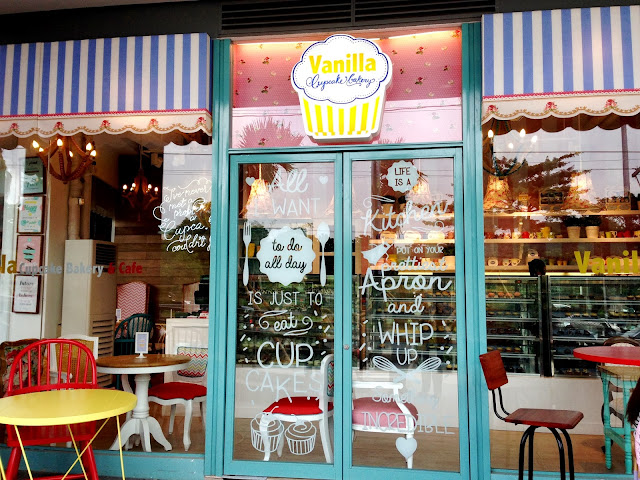 Ulmer Pizza Service Vanilla Cupcake Bakery Finally Now @ Up Town Center