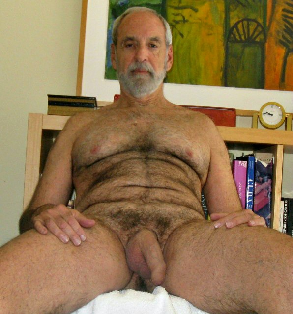 Idea Hairy nude older men topic has