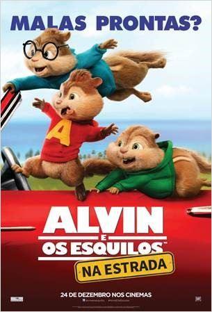 Alvin e os Esquilos 4: Na Estrada – Legendado (2015)