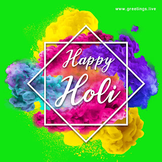 free holi wishes from greetings live