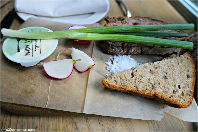 Aperitivo del Restaurante Ruso Mari Vanna en Nueva York