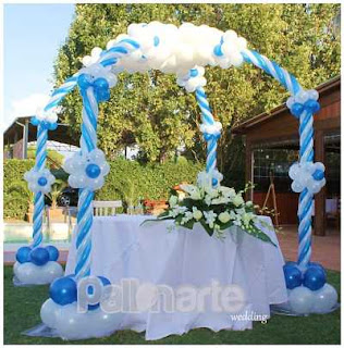 arco di palloncini catania