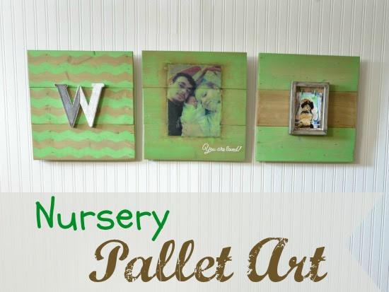 How To Make Nursery Pallet Wall Art Three Different Ways