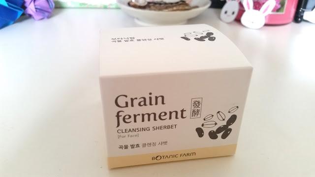 Grain Ferment Cleansing Sherbet