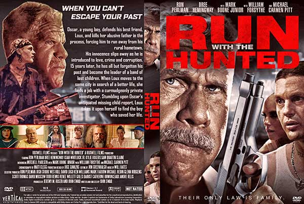 Run with the Hunted (2020) DVD Cover