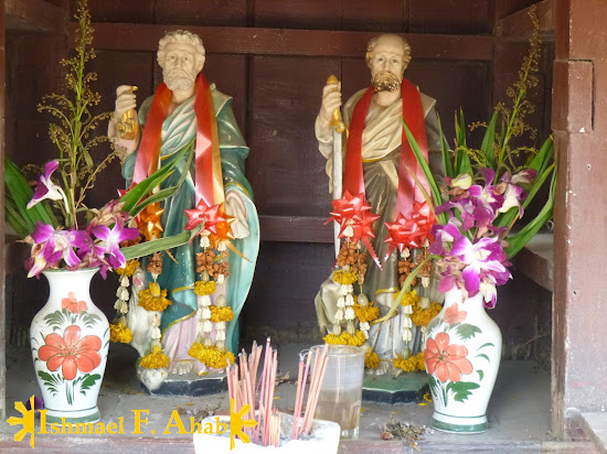 Saint Peter and Saint Paul in the Portuguese Village of Ayutthaya Historical Park
