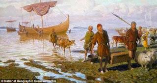 """Cincin Bertuliskan """"Allah"""" Ditemukan Di Makan Viking"""