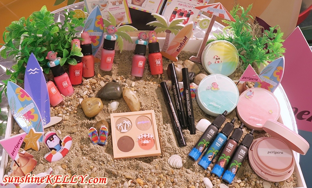 CLIO Tropical Hipster Collection & Peripera Perikiki Collection