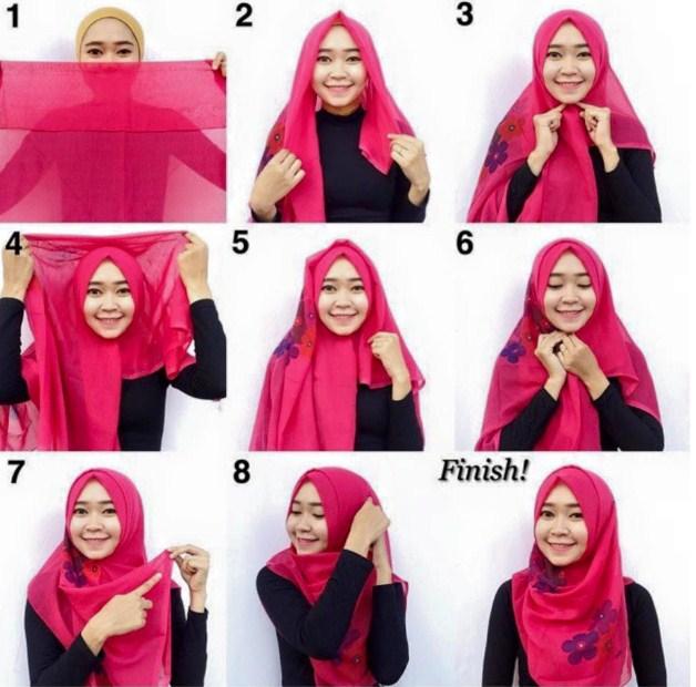 10+ Tutorial Hijab Simple Untuk Kuliah  1000+ Jilbab Cantik
