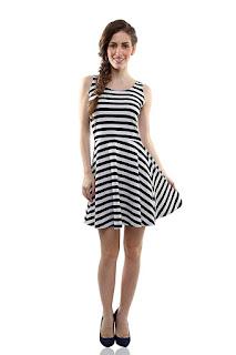 Miss Chase Women's Cotton Skater Dress