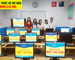 Lớp học đồ họa tại Phú Đô-Việt Tâm Đức