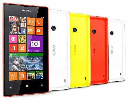 Nokia Lumia 525, Smartphone OS Windows Phone 8
