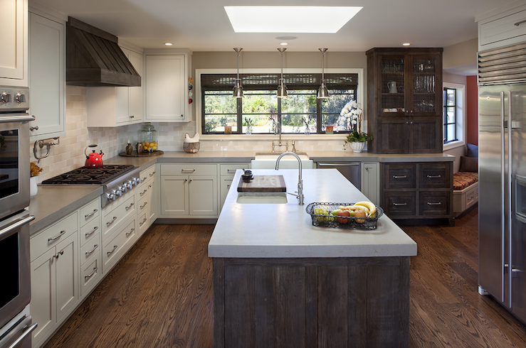 Two Toned Kitchen Countertops