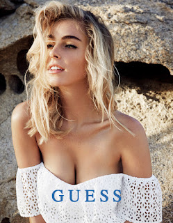 Elizabeth Turner, GUESS Photoshoot