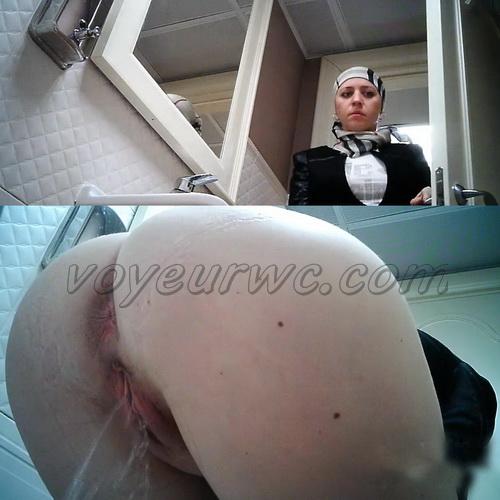 WC 2219-2223 (Hidden Camera in Female Restaurant Toilet)