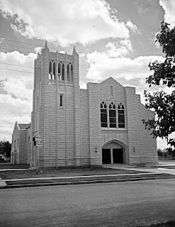 First Baptist Church Kerrville 1951