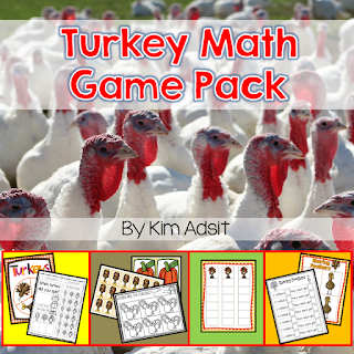 https://www.teacherspayteachers.com/Product/Thanksgiving-Turkey-Math-Game-Pack-167915
