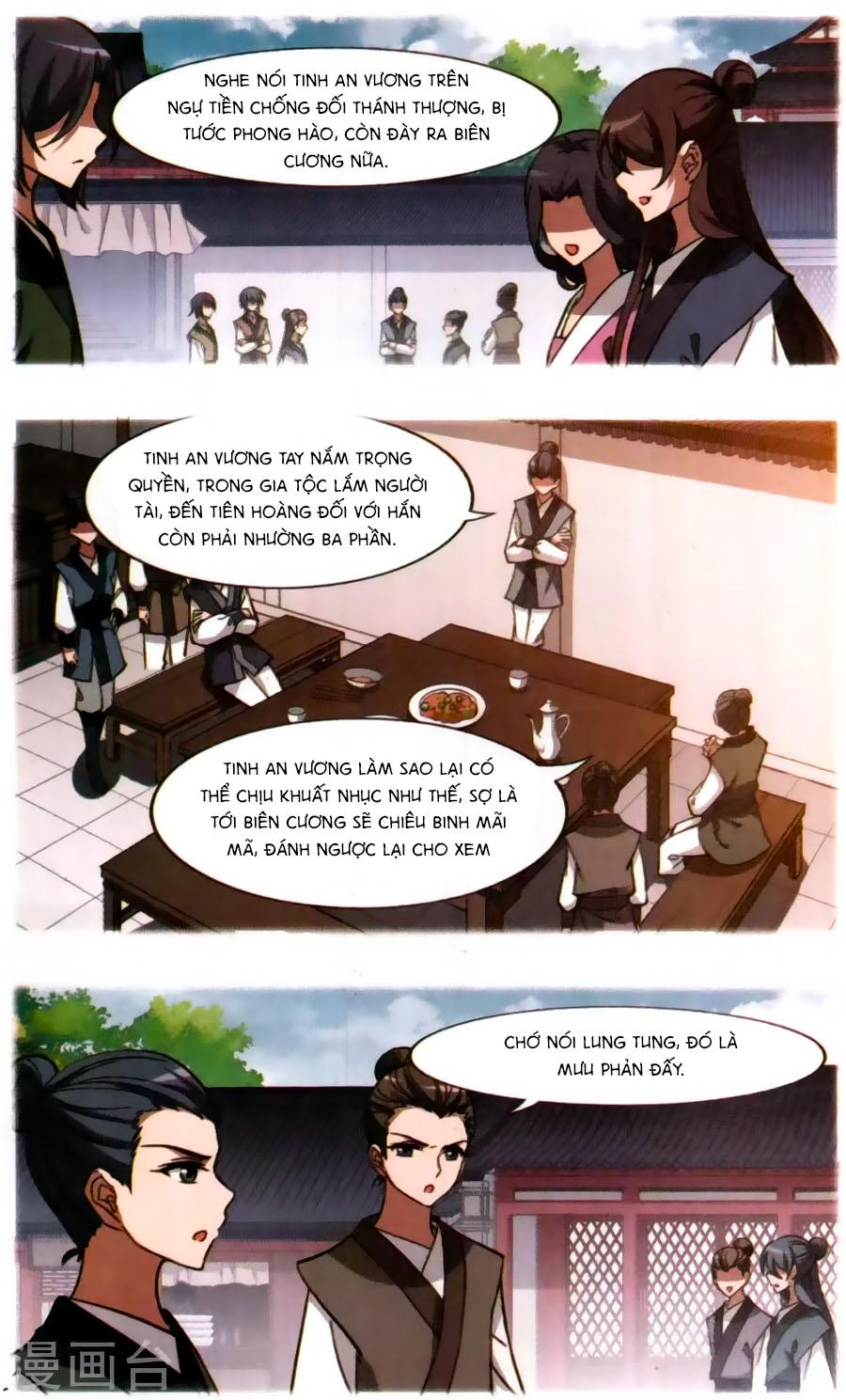 Phượng Nghịch Thiên Hạ Chap 122