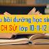 TÀI LIỆU GIẢNG DẠY BỒI DƯỠNG HỌC SINH GIỎI LỊCH SỬ THPT (lớp10-11-12)