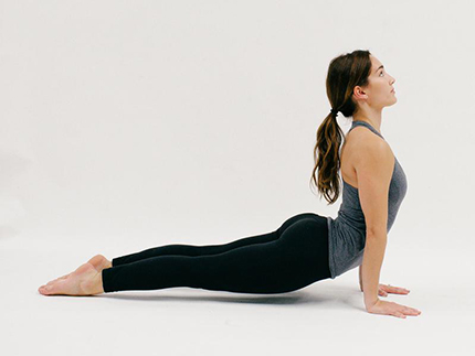 Upward Facing Dog (YOGA)