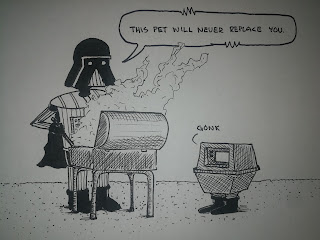 Darth Vader is not a good pet owner - The Far Dark Side