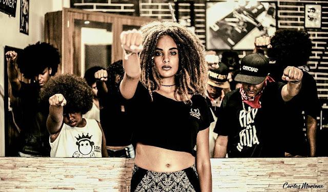 Lorenna em parceria com Dj Kurts lança o clipe 'Meu Crespo'
