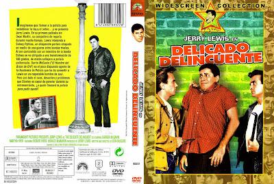 Carátula dvd:  Delicado delincuente (1957) The Delicate Delinquent
