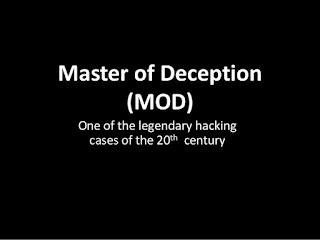 10 Hacker Paling Berbahaya Sepanjang Sejarah