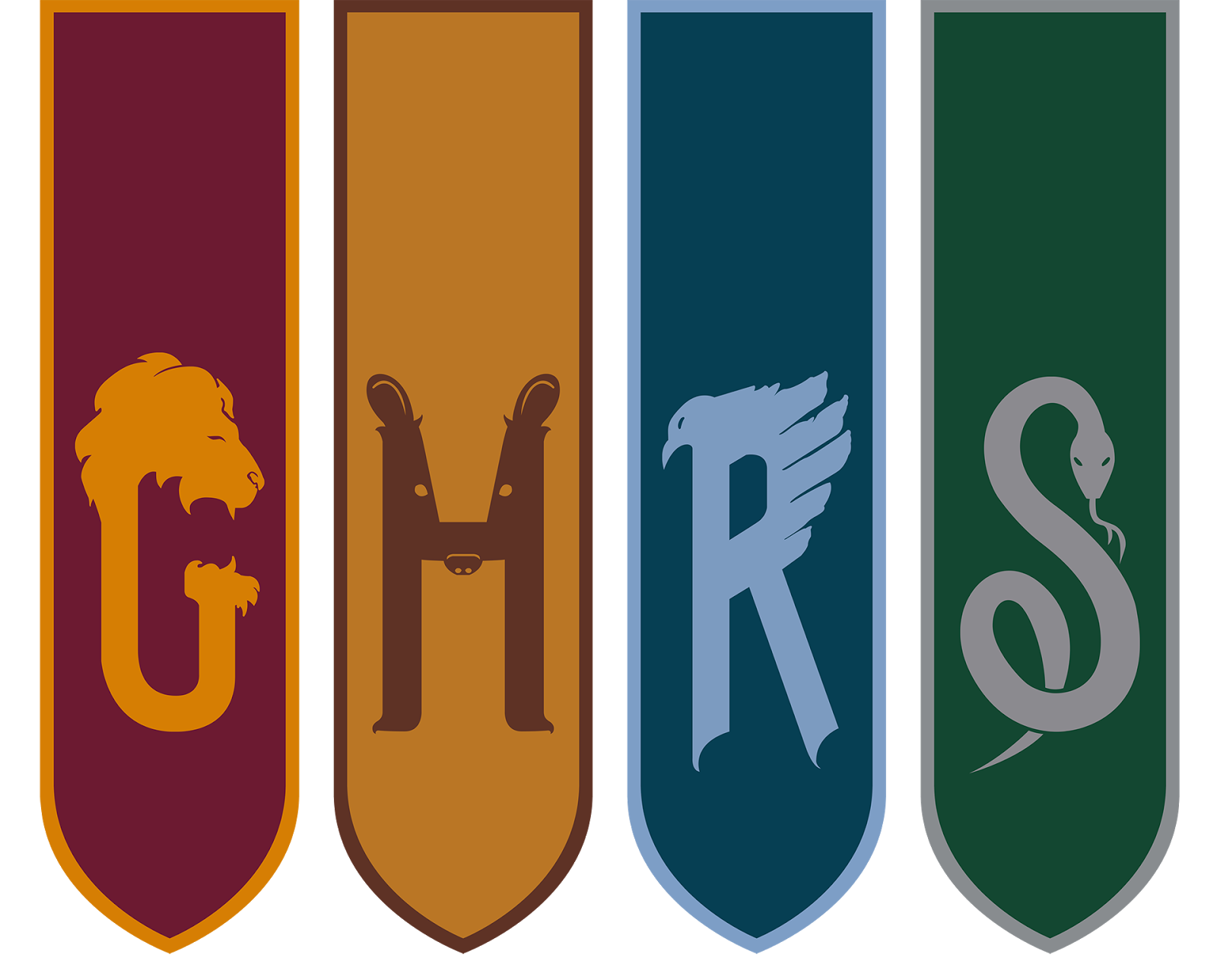 Casas de hogwarts harry potter im genes escudos y m s - Test de harry potter casas ...