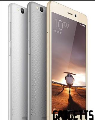 Xiaomi Redmi 3 With 4100Mah Soon Going to Launch .
