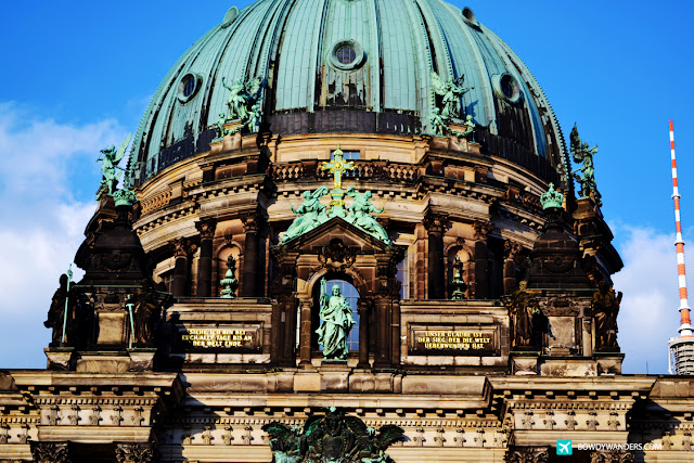 bowdywanders.com Singapore Travel Blog Philippines Photo :: Germany :: Berliner Dom: How To Rock Germany's Architectural Scene