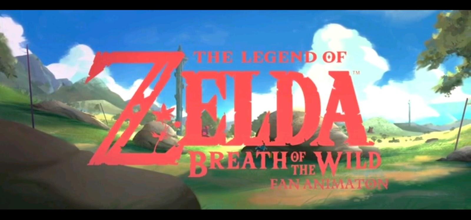 Legend Of Zelda Breath Of The Wild Animation