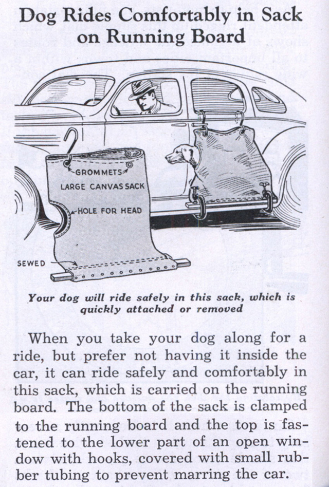 10 Weird Features of Old Cars ~ vintage everyday