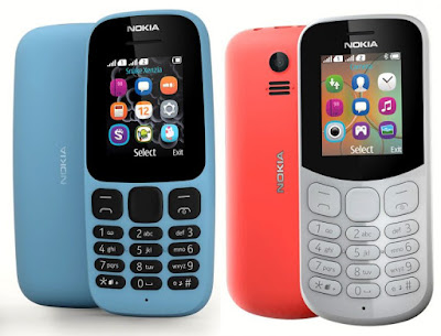 Nokia 105 and Nokia 130 (2017) Feature Phones Launched :  Price & Availability