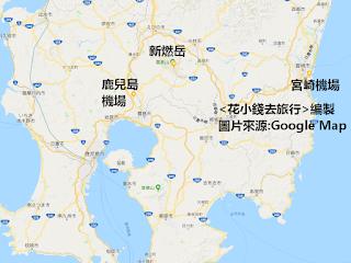霧島山-鹿兒島-宮崎地圖