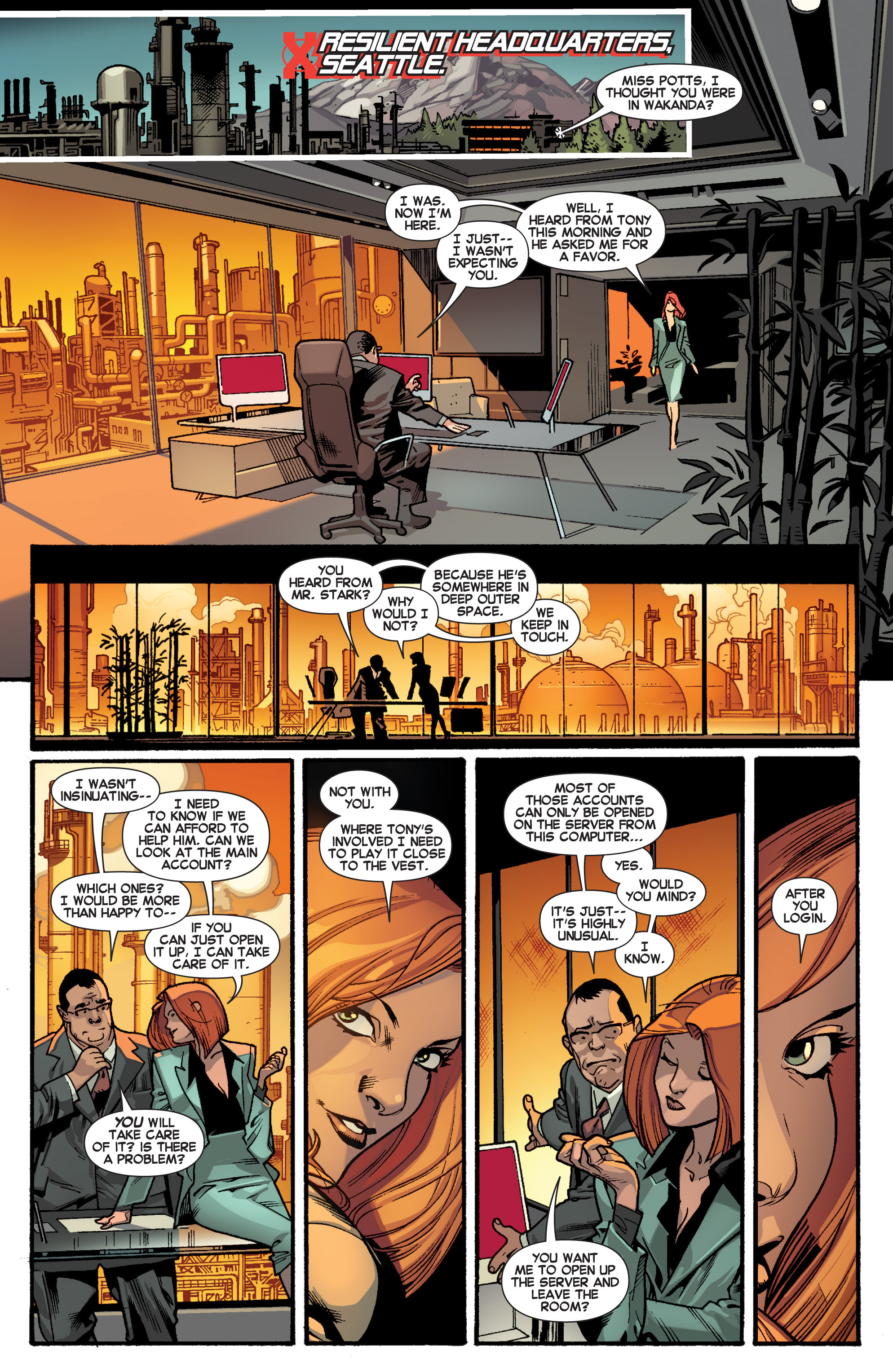 Read online All-New X-Men (2013) comic -  Issue # _Special - Out Of Their Depth - 16