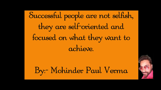 Making Self Success - Self Made Success is Man Made Success
