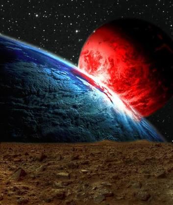 Inusual Fenomeno Ocurrira El Próximo Mes ( Marte Se Va Acercar A La Tierra )