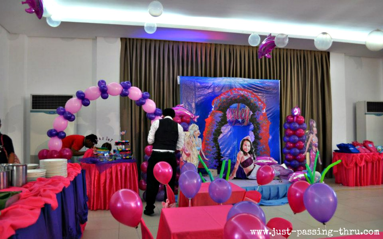 Kids Birthday Party Decoration Ideas At Home Just Passing Thru Why Do We Celebrate A Child S 7th Birthday