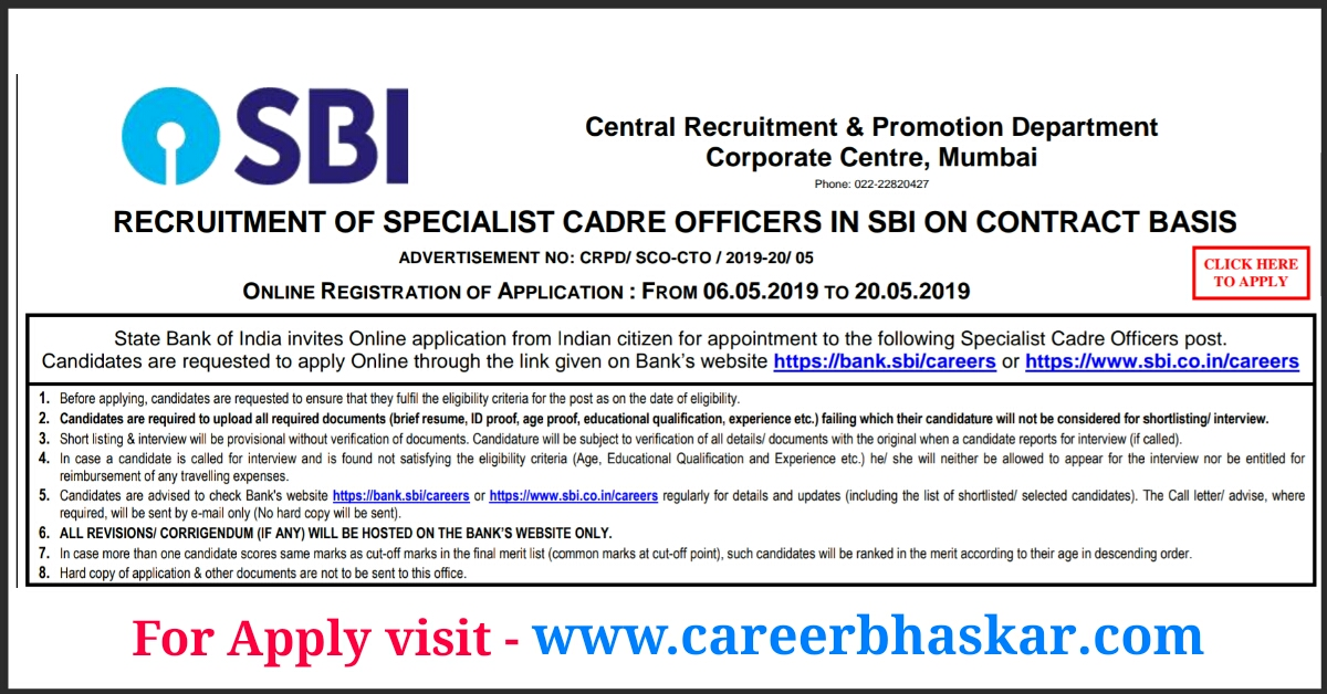 career in sbi