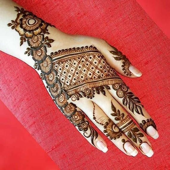 Mehndi Design Arabic New 2019
