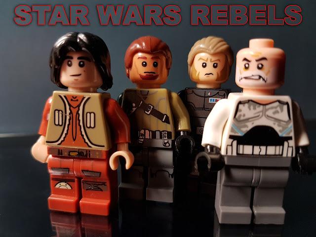 Kanan Jarrus, Commander Rex, Ezra Bridger, Alexsandr Kallus, Ghost Team, Star Wars Rebels Wallpappers HD