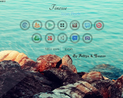 Finesse Icon Pack : 125 Excellent Icons Now Available for Purchase!