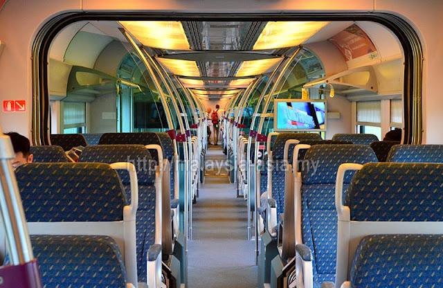 KLIA Express Train Interior