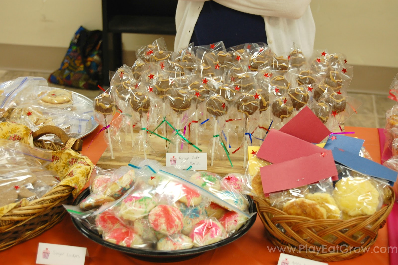 bake sale tips and ideas