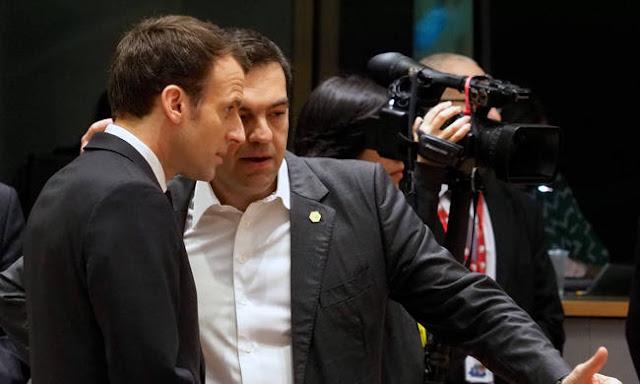 Τσίπρας σε Μακρόν: Η Ελλάδα δεν θα συμμετάσχει σε ενδεχόμενο πόλεμο κατά της Συρίας