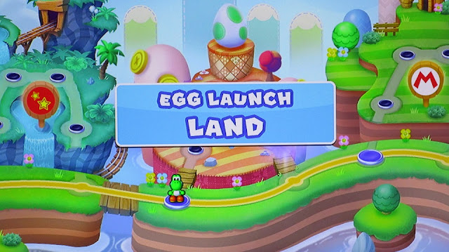 Egg Launch Land Mini Yoshi Mario and Friends amiibo Challenge new area unlocked